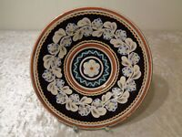 Ceramics Decorative Plate/Wall Plate - Parikrupa - Arts and Crafts Signed -