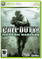 Xbox 360-Call of Duty 4 Modern Warfare (CR) New & Sealed (Xbox One compatible)