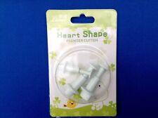 Set of 3 Heart Shape Plunger Cutters,  Sugarcraft, Cake Decorating