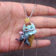 Free Shipping Anime Lilo & Stitch Figure Necklace Kids Pendant Toy Nice Gift
