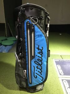 Titleist Players 4 Plus Stadry Stand Bag BLACK/BLUE/GREY New