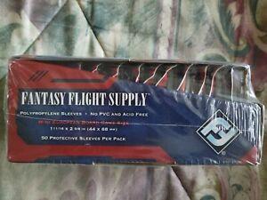 Fantasy Flight FFS02 Mini European Card Size - 500 Sleeves