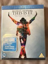 Michael Jackson - This Is It (Blu-ray, 2010) New And Sealed With Slipcover
