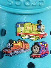 3 Thomas The Tank, James & Percy Charms Per Crocs & Jibbitz Braccialetti.
