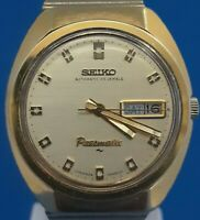 Mens Rare Seiko Presmatic 33 Jewels Watch.FREE THREE DAY PRIORITY SHIPPING.