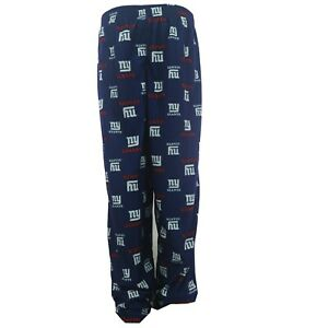 New York Giants Kids Youth Size Official NFL Print All Over Pajama Pants New