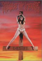 Cradle Of Filth Carte Postale Postcard PC 3100 Desire