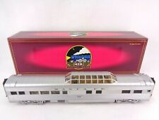 More details for mth rail king santa fe 70' streamlined vista dome passenger car o gauge scale