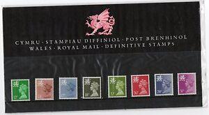 GB 1987 Wales Regional Definitives Presentation Pack No. 11 VGC stamps
