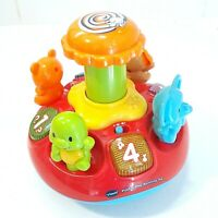 Vtech Kids Spinning Top Toy Learning Sing-along Musical Baby Toddlers Play Toy
