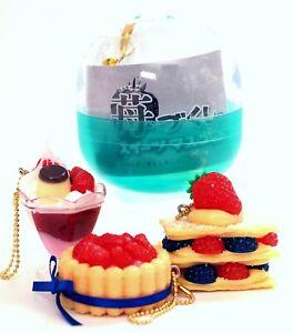 Japan Strawberry Cake Miniature Backpack Hanger Keychain 1 Random Phone Charm