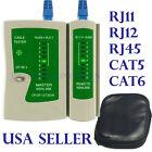Cat5 CAT6 RJ11 RJ12 RJ45 Network Ethernet Lan Internet Cable Tester Test Tool US