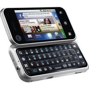 Original Unlocked Motorola Backflip MB300 3G Smartphone Android qwerty keyboard
