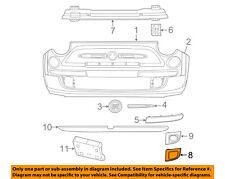 FIAT OEM 12-17 500 Front Bumper Grille-Bezel Right 1SD60KX7AB