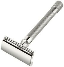 Merkur Double Edge Safety Razor with Long Slim Handle & Bar Guard #23C (180)
