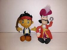 Fisher-Price Mattel Talking Captain Hook + Jake and The Neverland Pirates Plush