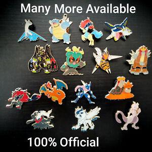 Pokemon Pin Badges