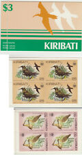 Kiribati 1983 Birds $3.00 Booklet, SB2, Brown Noddy & Curlew panes