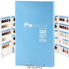 Fanola ® Colouring Chart Cream Permanent Crema Colore Permanente Carta Colori