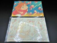 Studio Ghibli PONYO W/ Postcard Original Picture Art Cel Layout Exhibition NEW