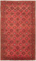 "Hand-knotted Carpet 5'5"" x 9'7"" Traditional Vintage Wool Rug...DISCOUNTED!"