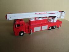 627K Mc Toy Mercedes 2232 Truck of Firefighters to Nacelle 1:50