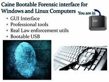 CAINE Computer Digital Forensics Investigative Environment Linux Live for PCs