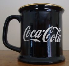 Vintage Coca-Cola Coffee Cup Mug 100th Anniversary Olympics Atlanta 1996 Black