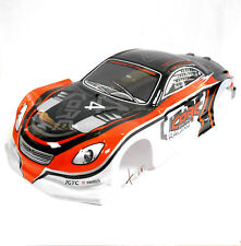 L690 1/10 Scale Drift Touring Car Body Cover Shell RC Orange Uncut
