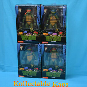 "Teenage Mutant Ninja Turtles (1990) - 7"" Action Figures - Set of 4"