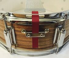 Snare Flair Drum Strap Percussion Wine Red USA Made SnareFlair Straps