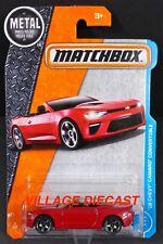 2017 Matchbox #2 '16 Chevy® Camaro® Convertible RED HOT/MOC