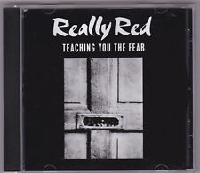 Really Red-Teaching You The Fear CD First PRESS Conseil MDC Houston Texas Punk