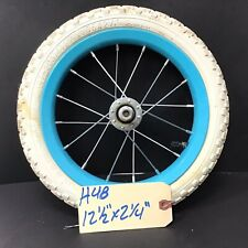 """Complete 12"""" Front Bicycle Blue Wheel w/ Tire 12 1/2 X 2 1/4 Bike BMX #H48"""