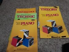 Bastien piano books (VARIED LOT)