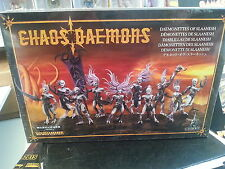 WARHAMMER 40K CHAOS DAEMONS DAEMONETTES OF SLAANESH 28MM MINIATURES NEW & SEALED