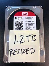 WD Red 6TB NAS SATA Hard Drive 5400RPM 64MB Cache 3.5