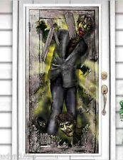 HALLOWEEN party Scene Setter ZOMBIES wall door poster decor The WALKING DEAD