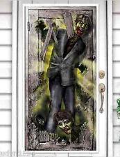 HALLOWEEN party Scene Setter ZOMBIES wall door poster decor The WALKING DEAD