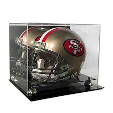 NEW Saf-T-Gard FS NFL Football Helmet Deluxe Acrylic Display Case AD03