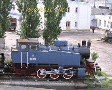 35mm railway slide Roberts 93027K Russia RZD 0-6-0T 9P-100 at Novorossiysk