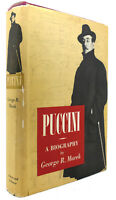 George R. Marek PUCCINI A Biography 1st Edition 1st Printing