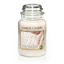 Yankee Candle - COZY SWEATER - 22 oz - Great Fresh Fall & Winter Scent!! - RARE!