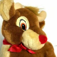 Vintage Rudolph The Red Nose Reindeer by Applause 10""
