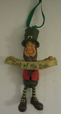 DECLAN'S FINNIANS LEPRECHAUN HANGING WOBBLER LUCK OF THE IRISH