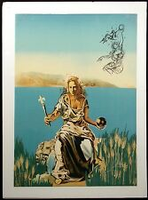 "Salvador Dali ""Coronation of Gala"" Authentic, Hand Signed by Dali, Make Offer!"