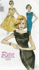 Sexy Marilyn Retro 60 wiggle Dress PATTERN Butterick 6582 XL wasp waist 18 20 22