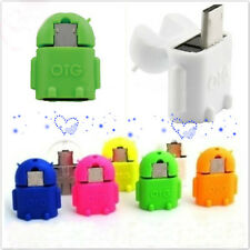 Pro Robot Micro USB Host OTG Adapter Cable for Samsung Galaxy S3/4 Note2 IDXX