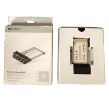 Belkin FireWire Notebook Card IEEE 1394 PCMCIA Card