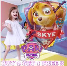 "New 24"" XL PAW PATROL SKYE BIRTHDAY PARTY BOY PUPPY DOG SUPPLY FOIL BALLOONS"